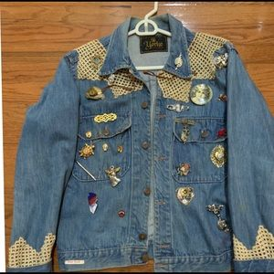 Vintage Art Denim Jacket